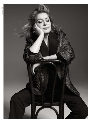 Catherine Deneuve - Elle France Magazine (January 2019)