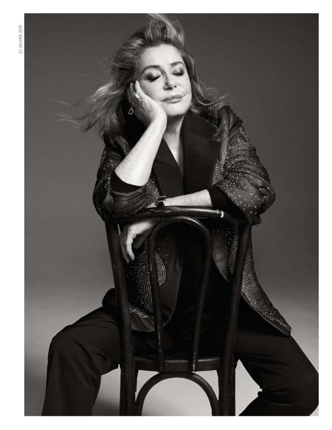 Catherine Deneuve - Elle France Magazine (January 2019)