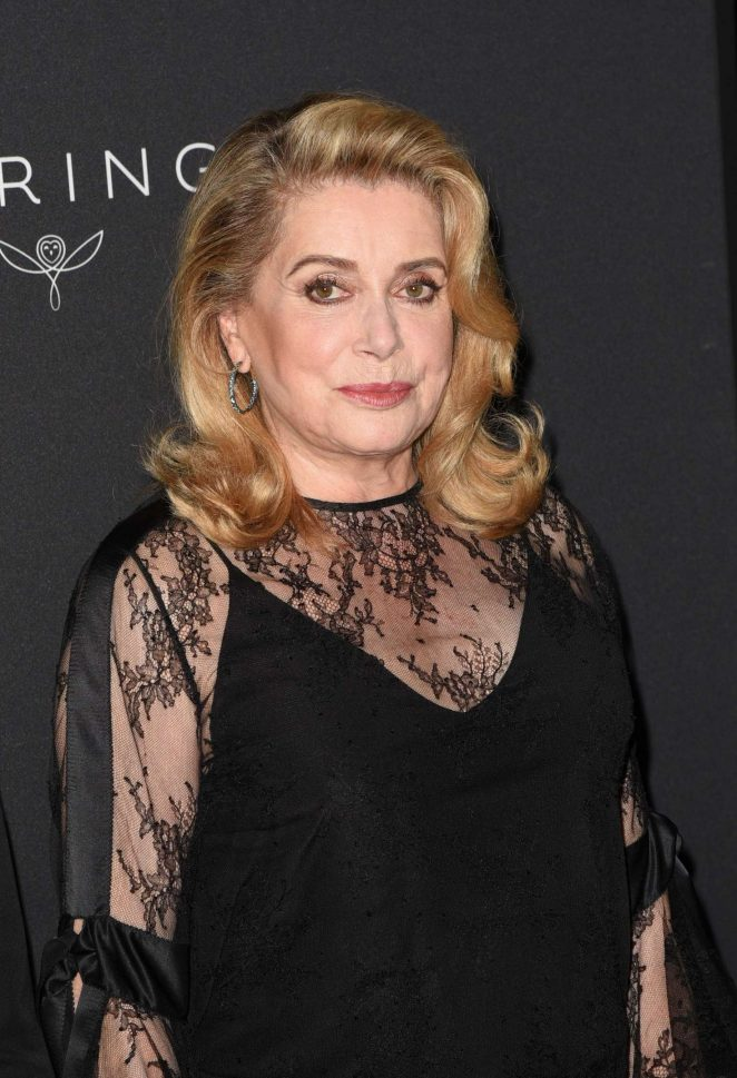 Catherine Deneuve - Kering Women in Motion Awards 2017 in Cannes
