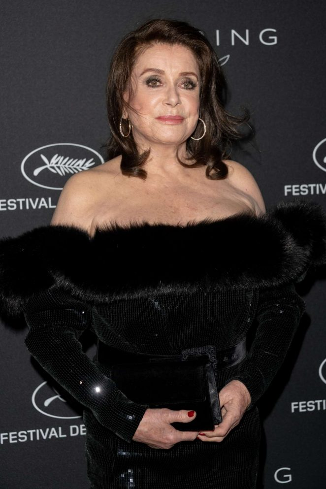Catherine Deneuve - Kering Women in Motion Awards Dinner at 2018 Cannes Film Festival