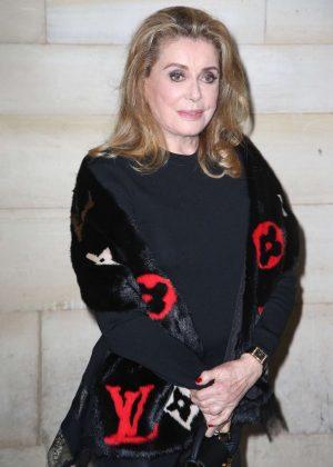 Catherine Deneuve - Louis Vuitton Fashion Show in Paris