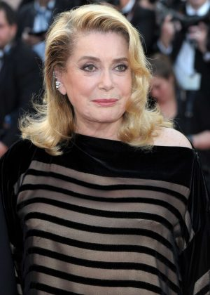 Catherine Deneuve - 'The Killing of a Sacred Deer' Premiere at 70th Cannes Film Festival