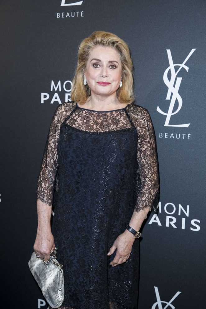 Catherine Deneuve - Yves Saint Laurent Fragrance 'Mon Paris' Launch in Paris