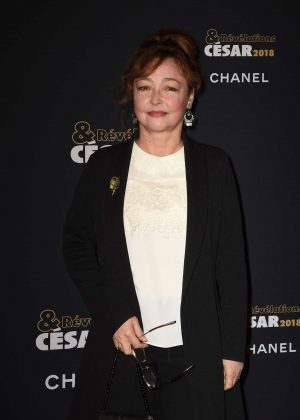 Catherine Frot - Cesar Revelations 2018 at Le Petit Palais in Paris