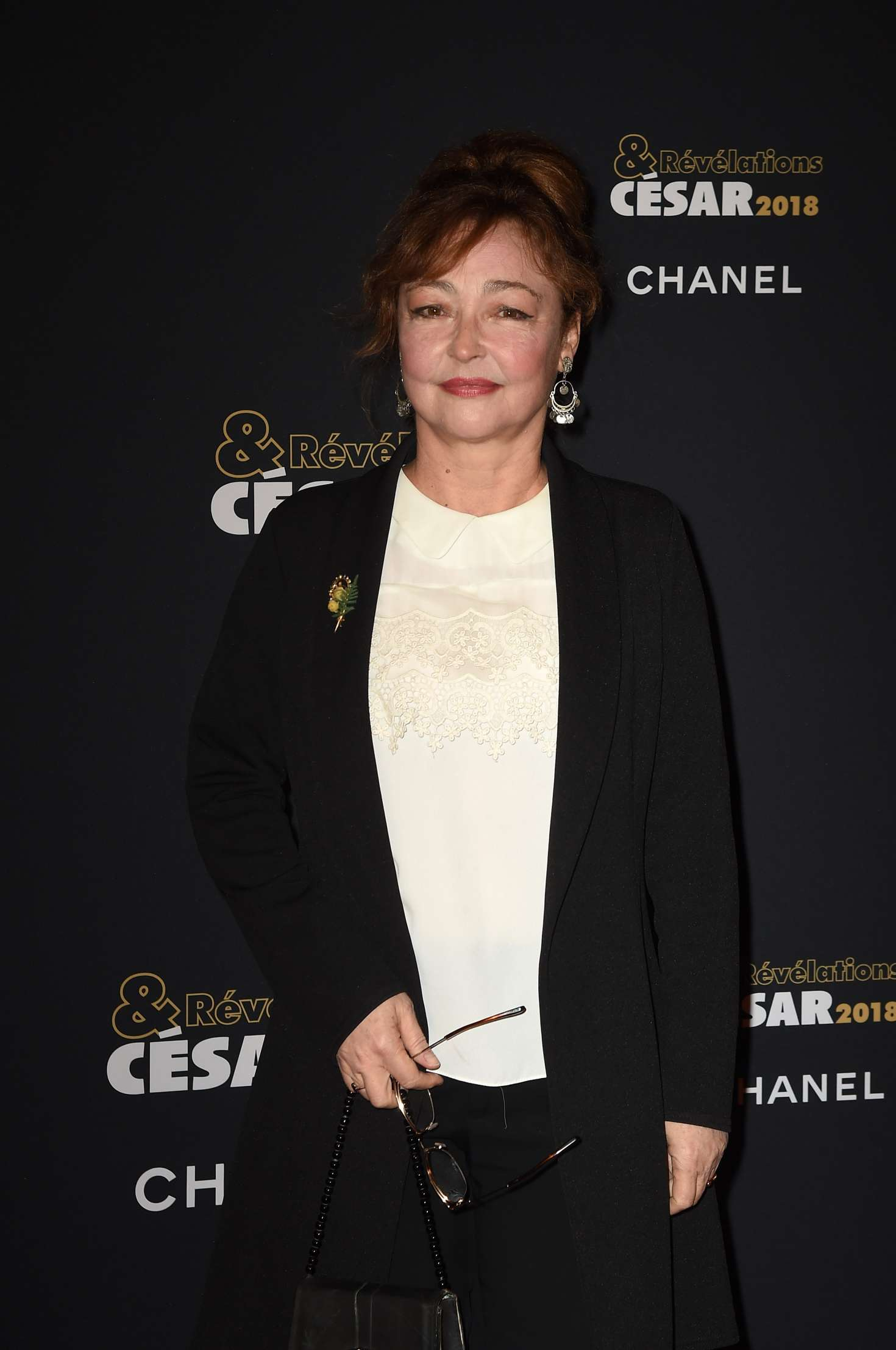 Catherine Frot Cesar Revelations 2018 At Le Petit Palais