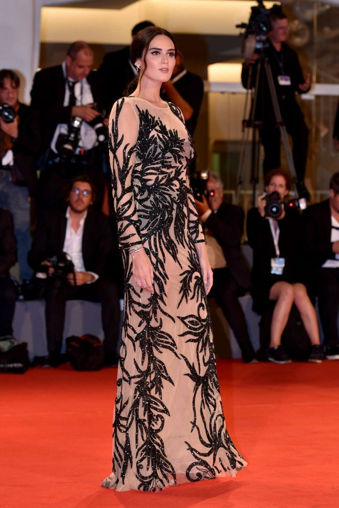 Catherine Poulain - Never Look Away Premiere - 2018 Venice Film Festival