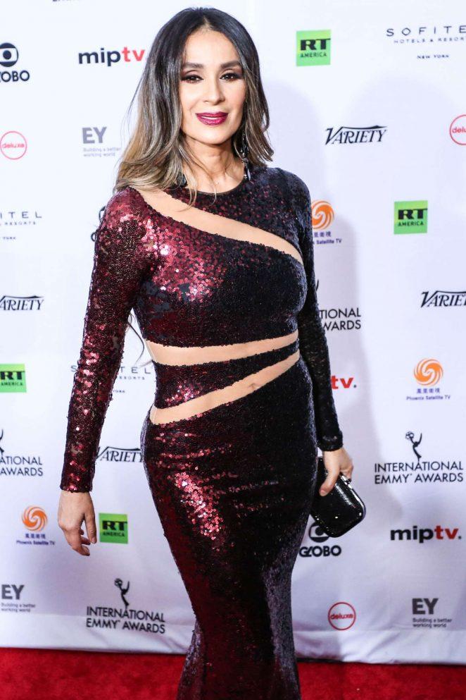 Catherine Siachoque - 46th International Emmy Awards Gala in New York