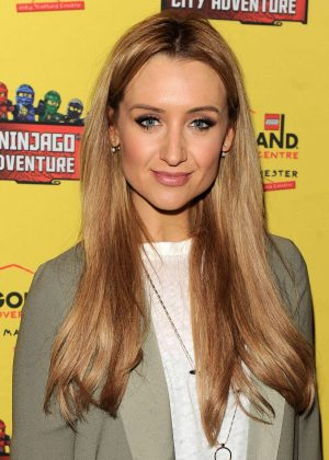 Catherine Tyldesley - Legoland Discovery Centre Opening in Manchester