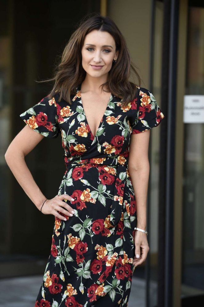 Catherine Tyldesley - Out and about in Birmingham