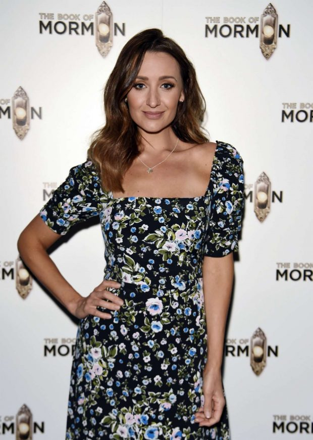 Catherine Tyldesley - The Book of Mormon Press Night in Manchester