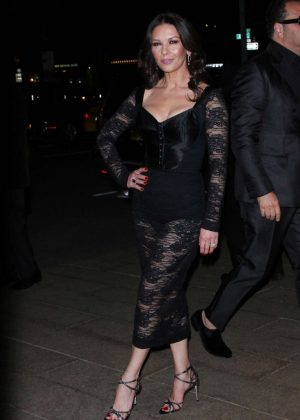 Catherine Zeta-Jones - 2018 Dolce and Gabbana Alta Moda Event in NYC
