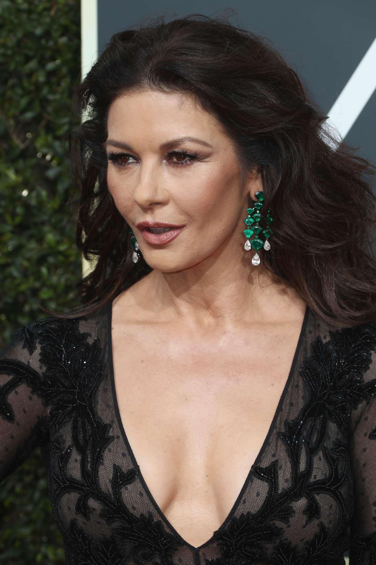 Catherine Zeta-Jones: 2018 Golden Globe Awards -03 - GotCeleb Catherine Zeta Jones