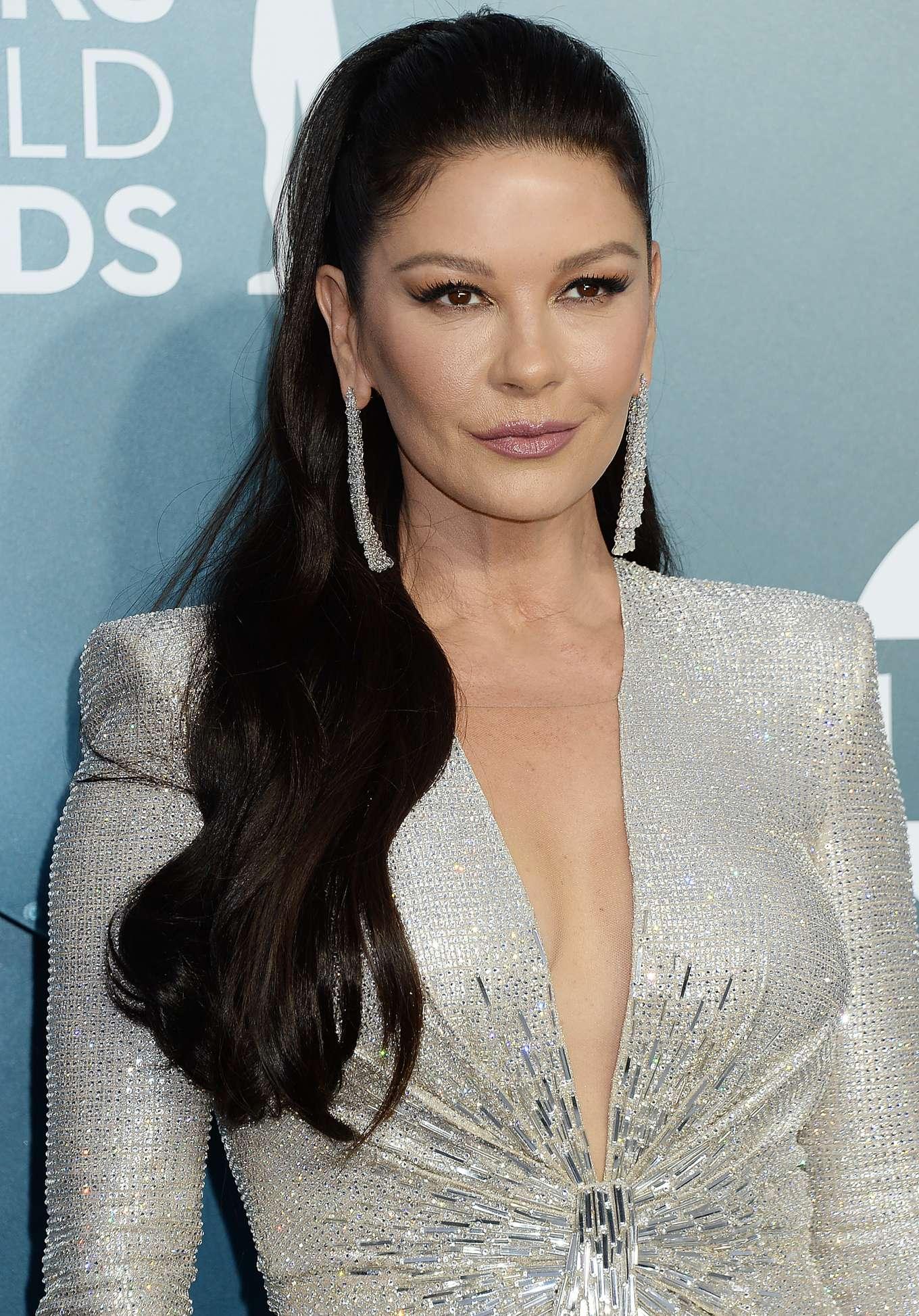 Catherine Zeta-Jones – 2020 Screen Actors Guild Awards in ...
