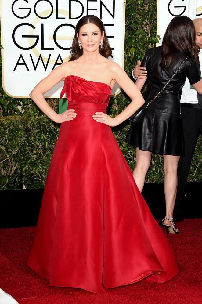 Catherine Zeta-Jones - 2015 Golden Globe Awards in Beverly Hills