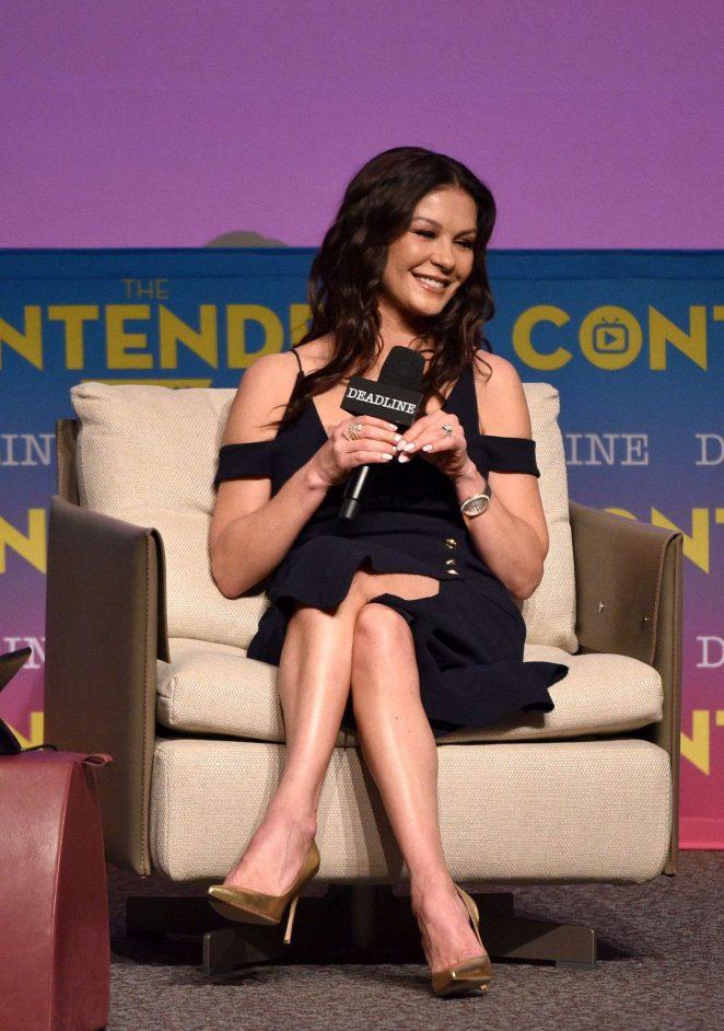 Catherine Zeta-Jones - 'Cocaine Godmother' Presentation in Los Angeles