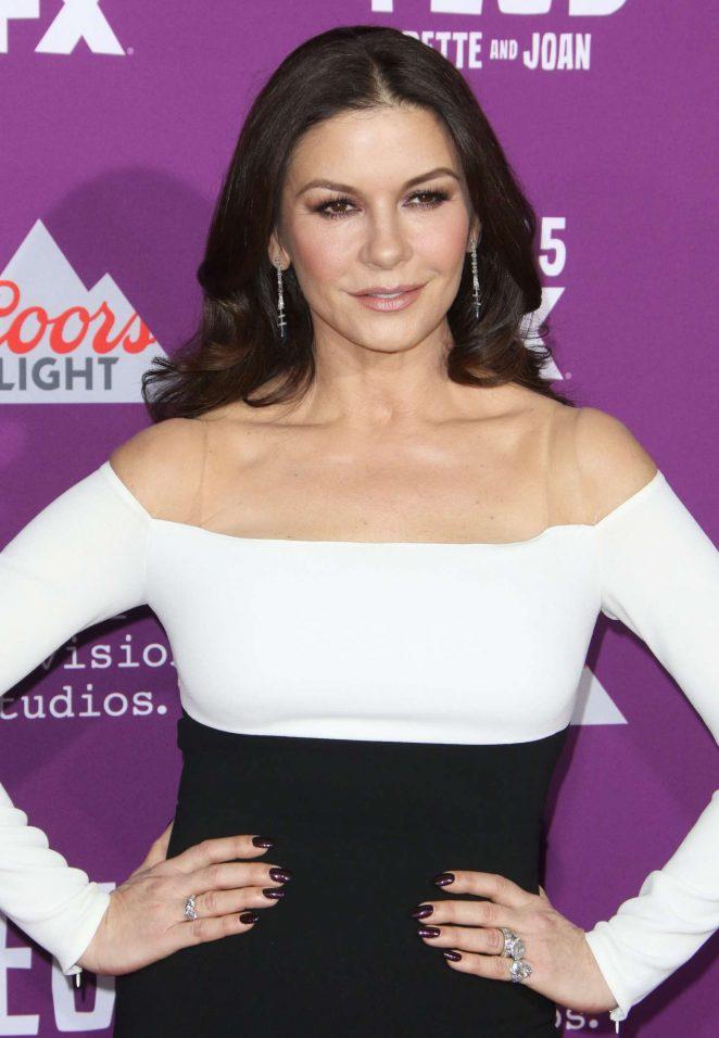 Catherine Zeta-Jones - 'Feud: Bette and Joan' TV Series Premiere in Los Angeles