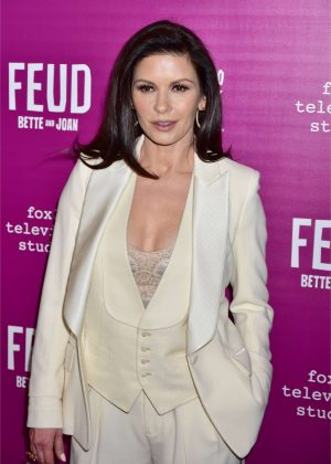 Catherine Zeta-Jones - 'Feud' Premiere in New York City