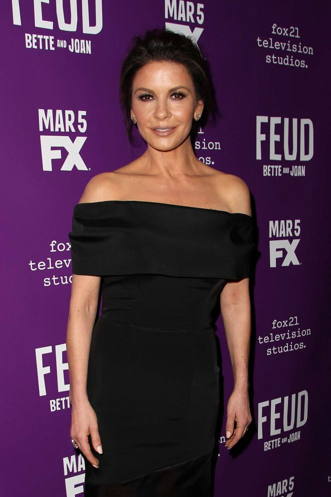 Catherine Zeta Jones - 'Feud' Premiere in New York