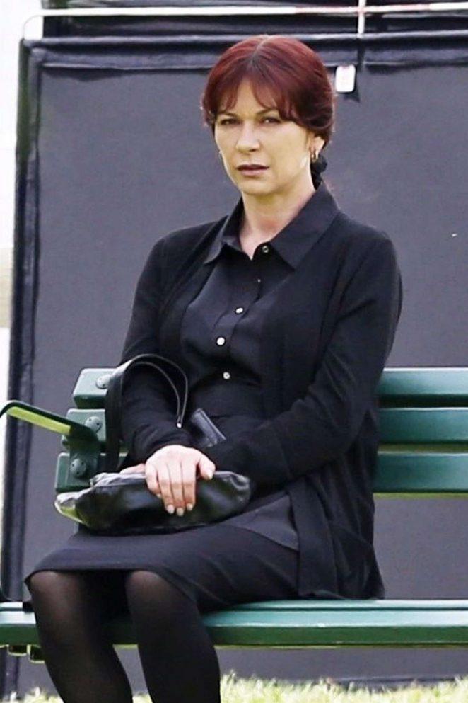 Catherine Zeta Jones – Filming 'Cocaine Godmother' set in Vancouver
