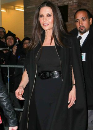 Catherine Zeta-Jones - Leaves Carnegie Hall in New York City