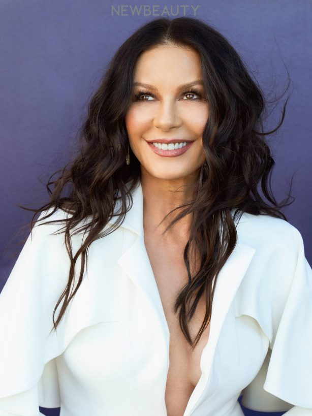Catherine Zeta-Jones - New Beauty magazine - March 2021