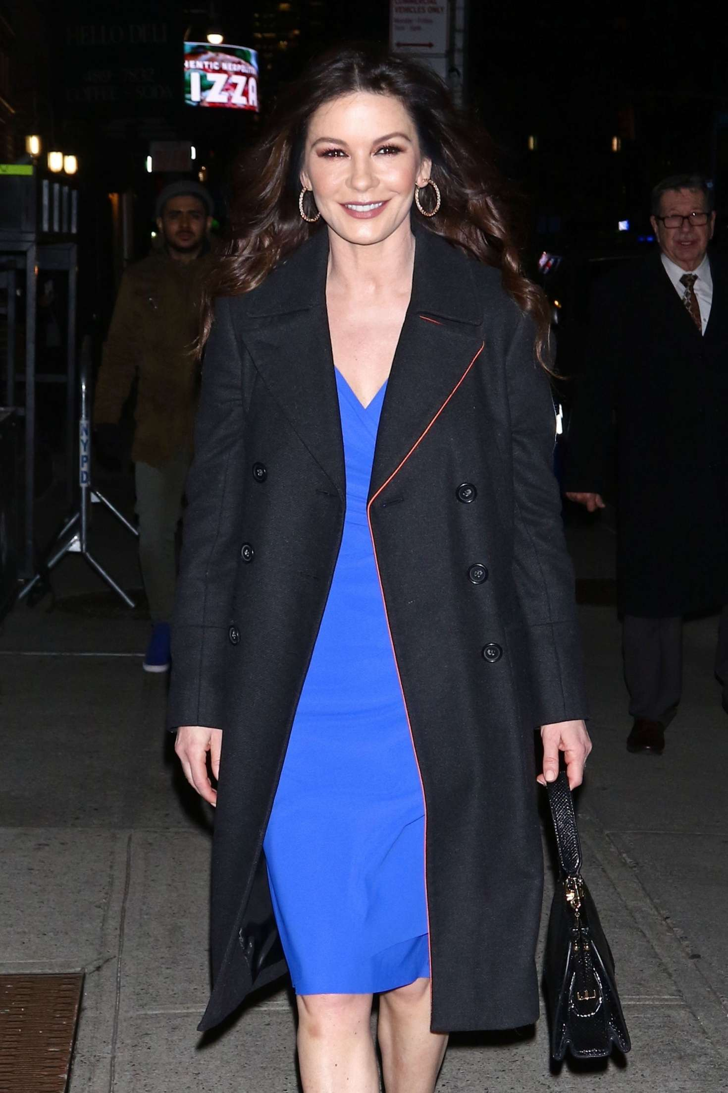 Catherine Zeta-Jones - Night out in New York City