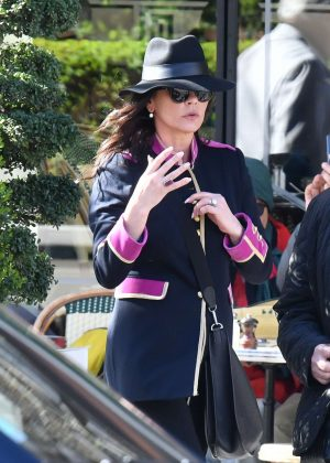 Catherine Zeta-Jones - Out in Paris
