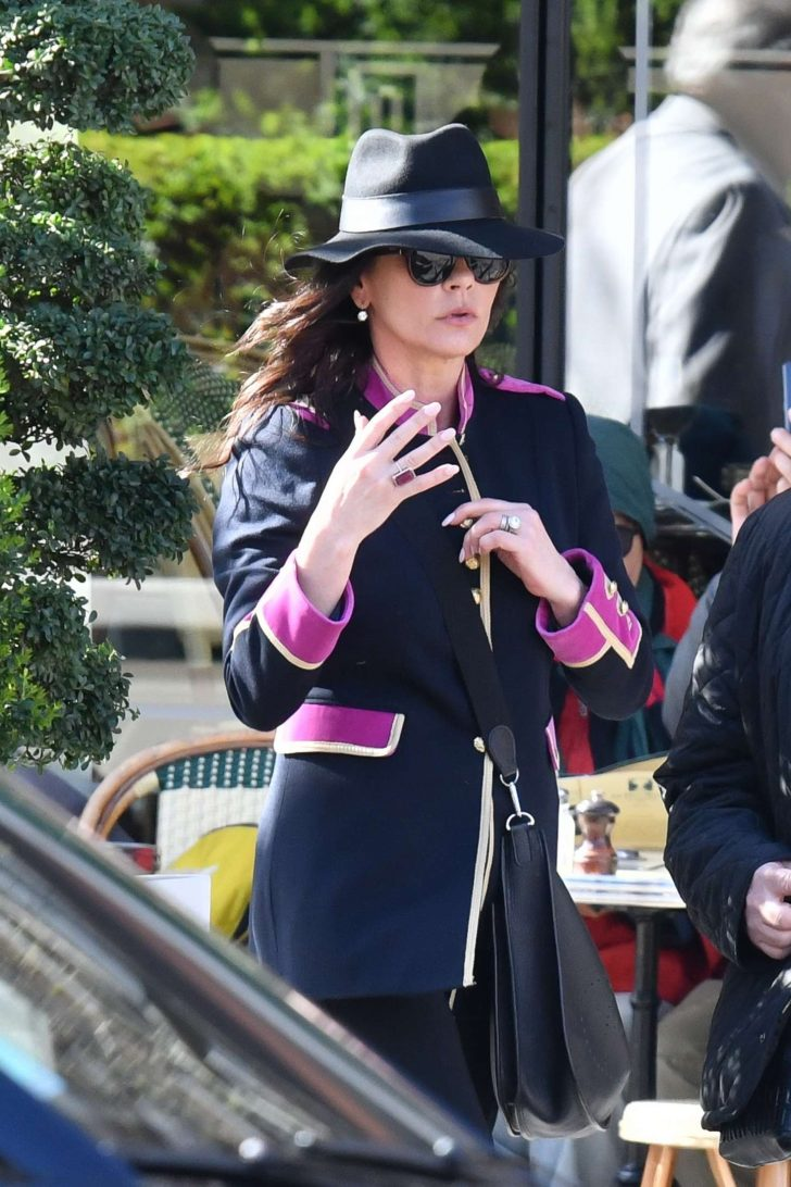 Catherine Zeta-Jones - Out in Paris