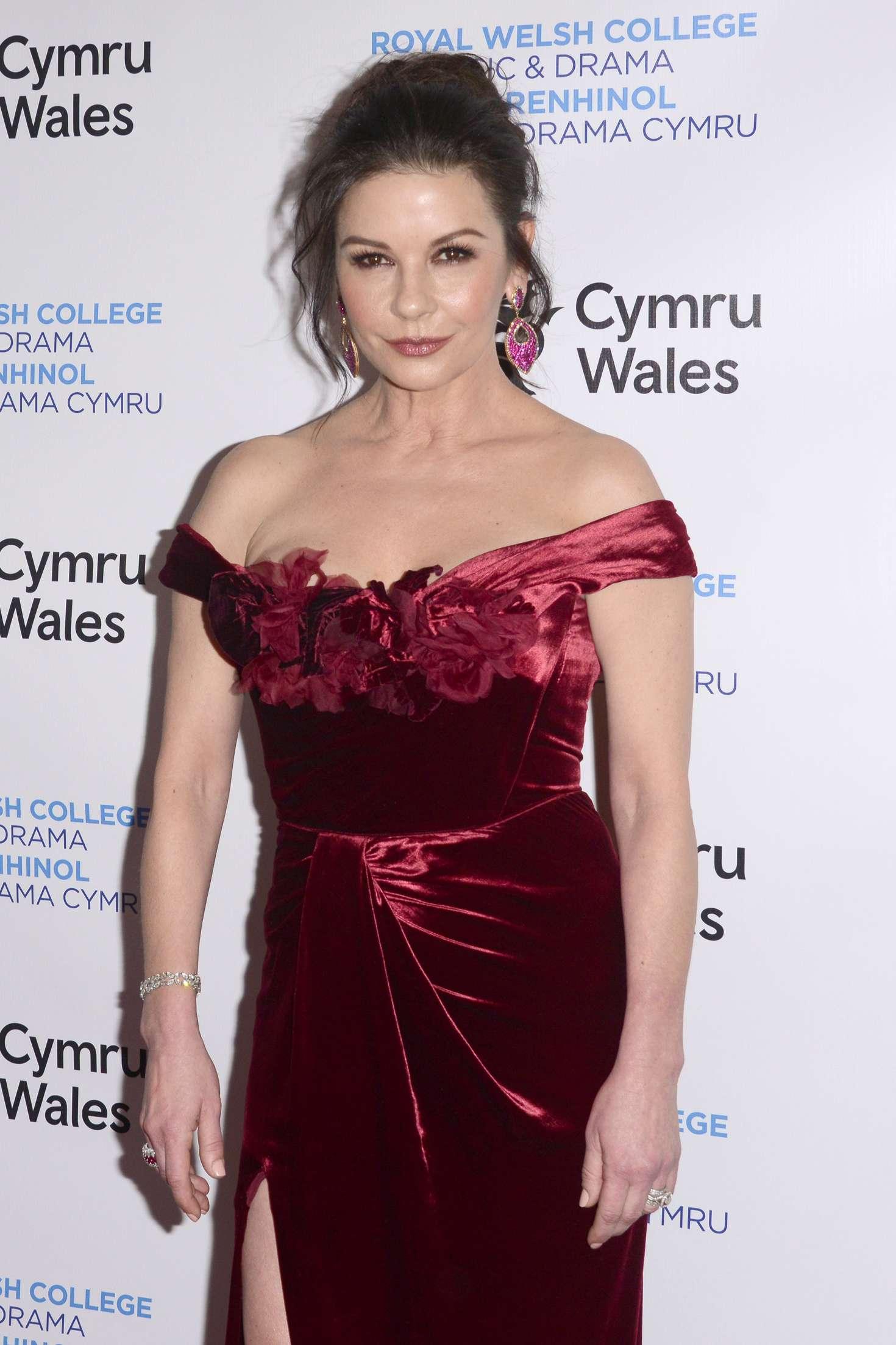 Catherine Zeta-Jones - Royal Welsh College of Music & Drama 2019 Gala in NYC