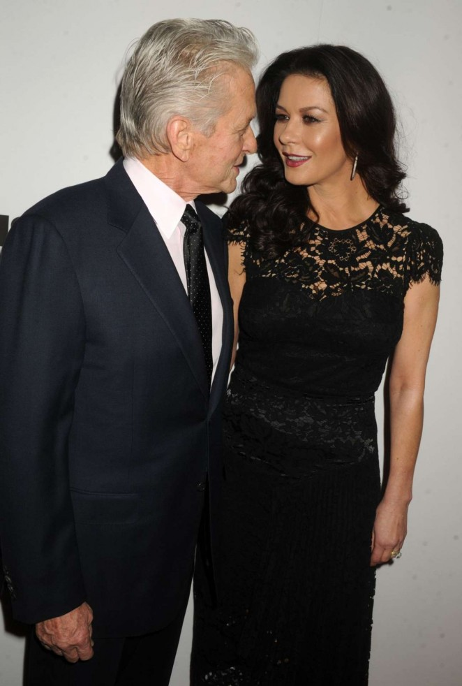 Catherine Zeta Jones - The Mica And Ahmet Ertegun Atrium Opening in New York