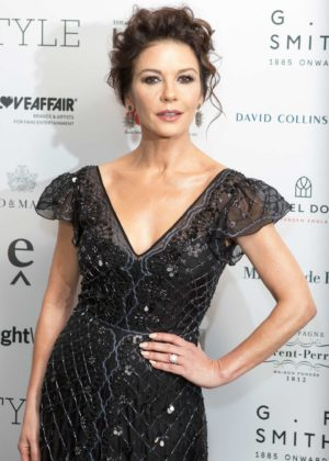 Catherine Zeta-Jones - Walpole British Luxury Awards 2017 in London