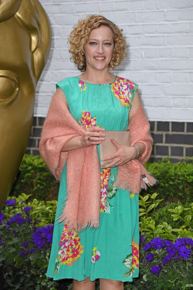 Cathy Newman - British Academy Television Craft Awards 2016 in London