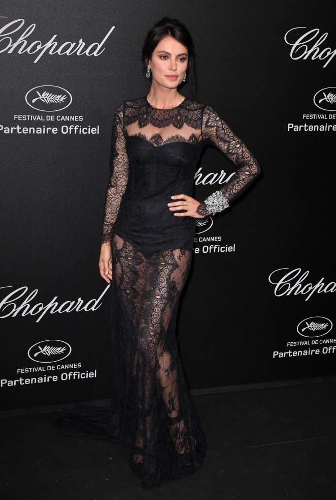 Catrinel Marlon - Secret Chopard Party at 208 Cannes Film Festival