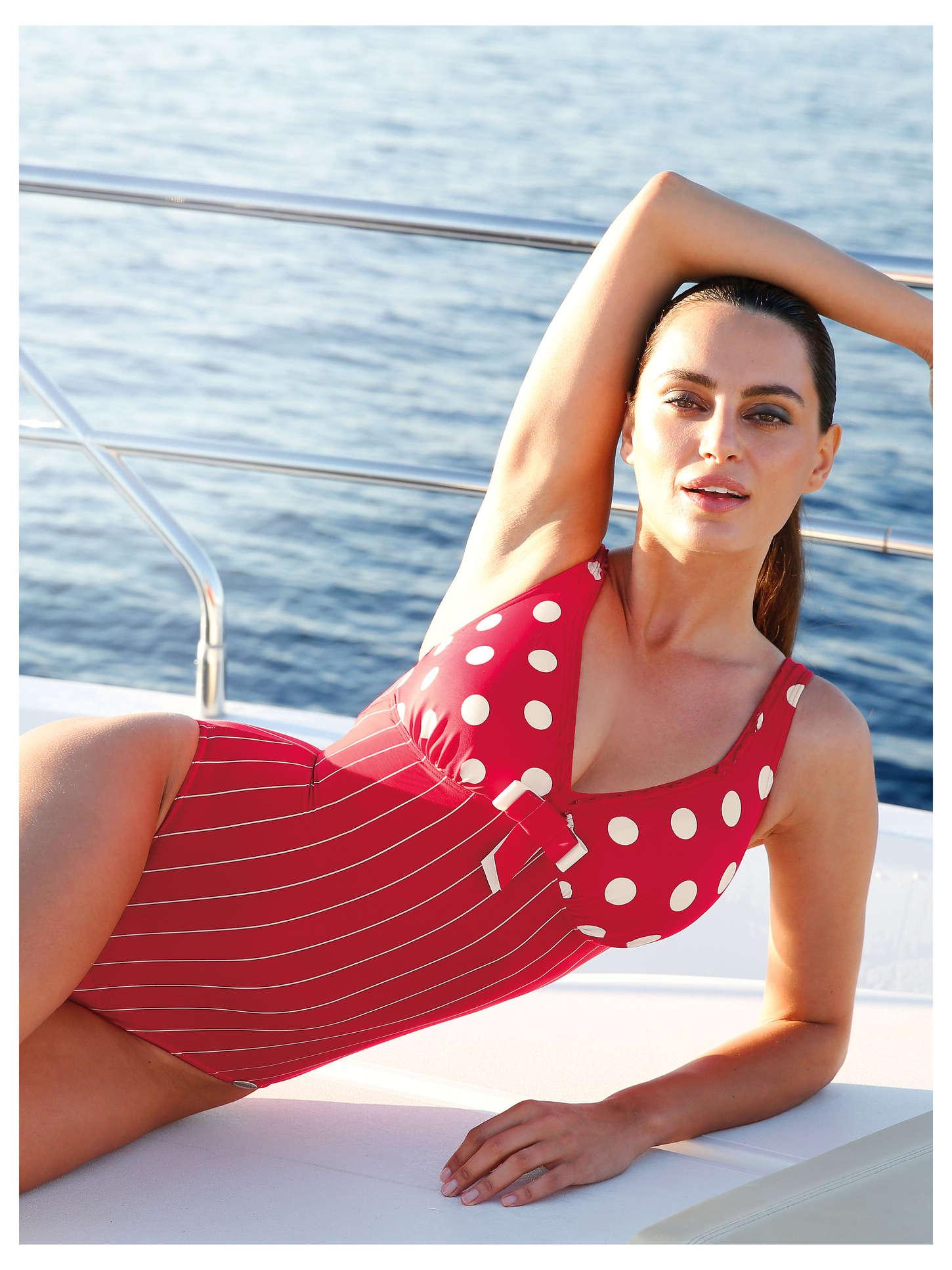 89cc8ae2b9 Catrinel Menghia  Sunflair Swimwear 2015 -16 – GotCeleb