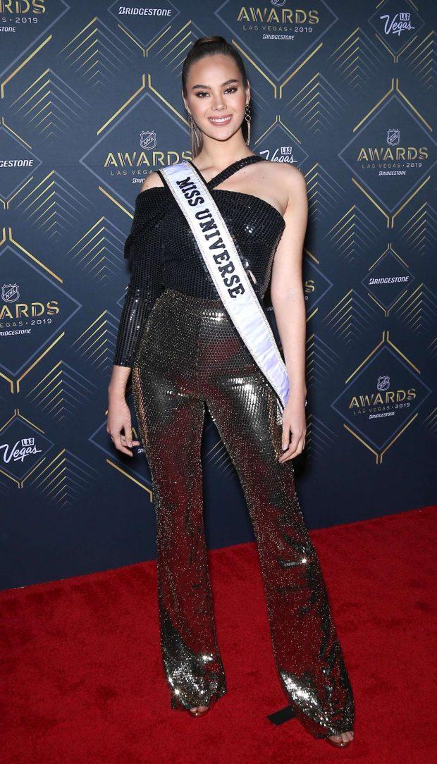 Catriona Gray - 2019 NHL Awards in Las Vegas