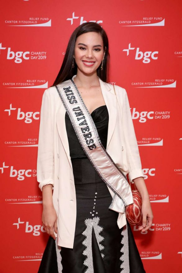 Catriona Gray - Cantor Fitzgerald, BGC and GFI Annual Charity Day in NYC