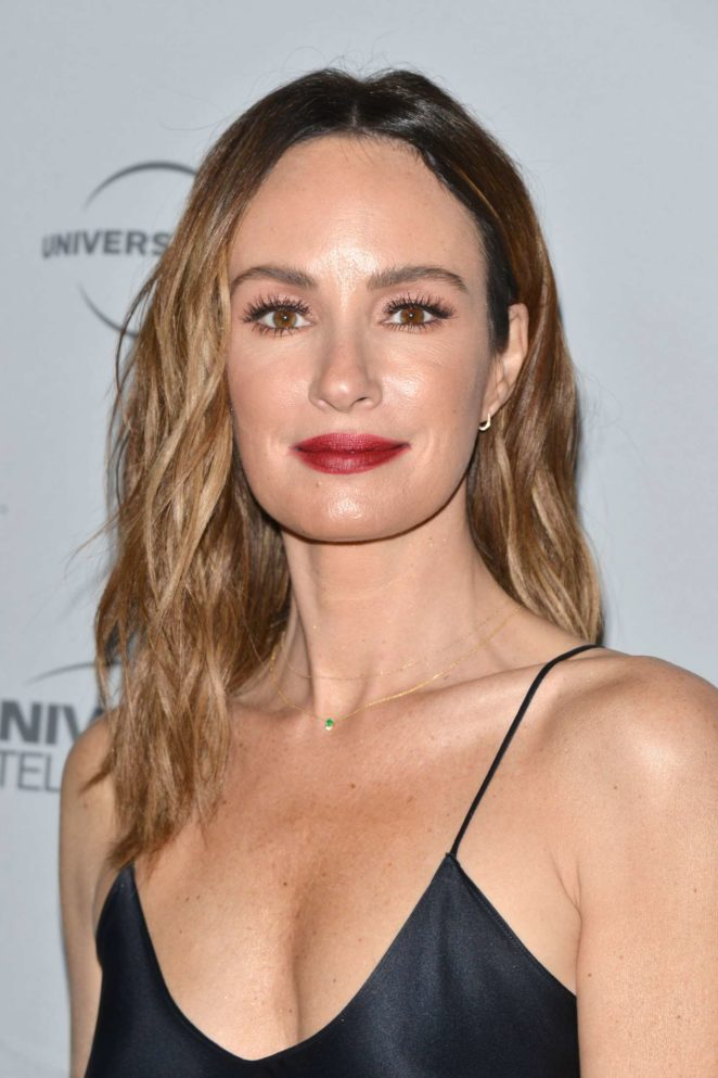 Catt Sadler – 2017 NBCUniversal Holiday Kick Off Event in LA