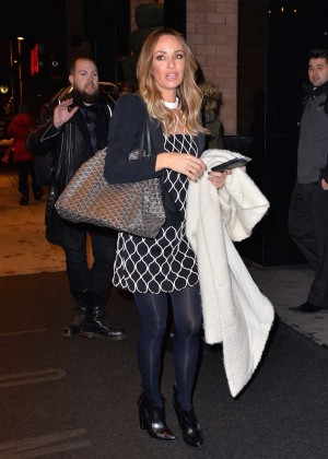 Catt Sadler - Leaves the London Hotel