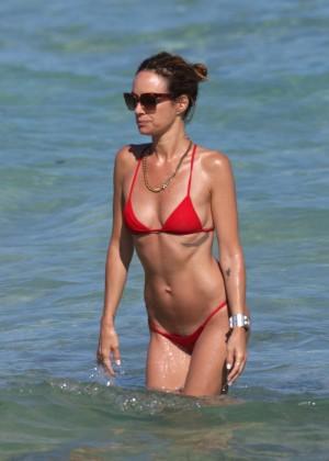Catt Sadler in Red Bikini -04