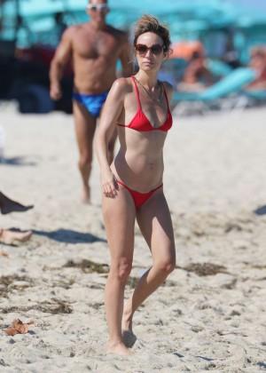 Catt Sadler in Red Bikini -14