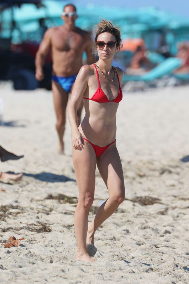 Catt Sadler in Red Bikini -14