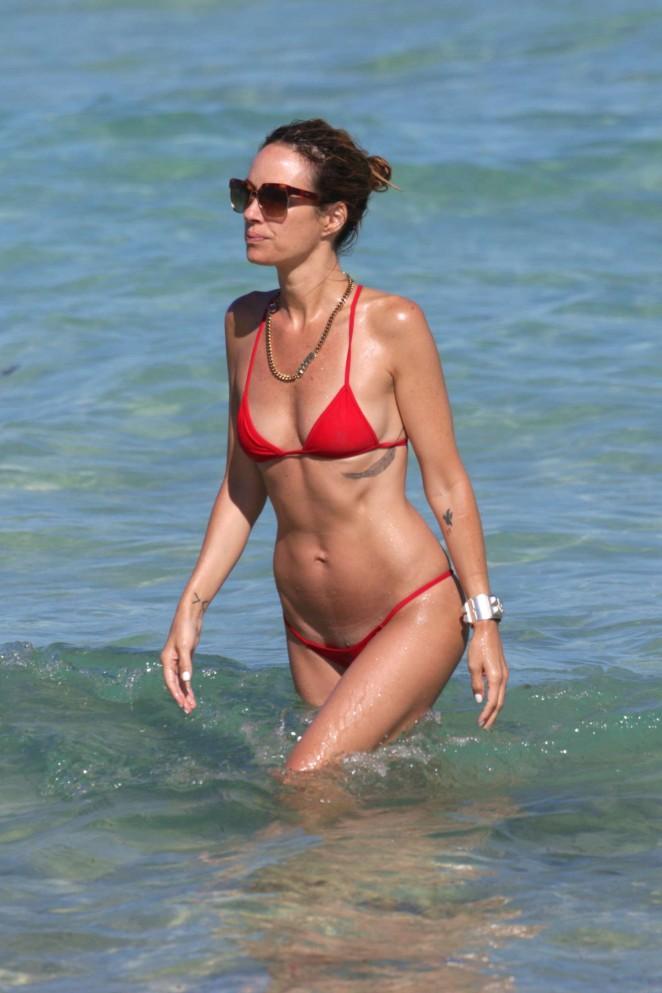 Catt Sadler in Red Bikini -20