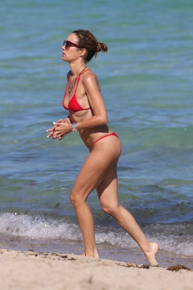 Catt Sadler in Red Bikini -22