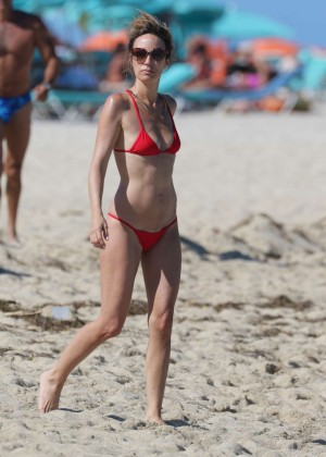 Catt Sadler in Red Bikini -27