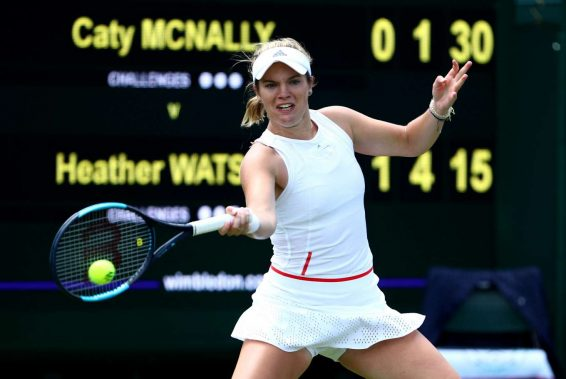 Caty McNally - 2019 Wimbledon Tennis Championships in London