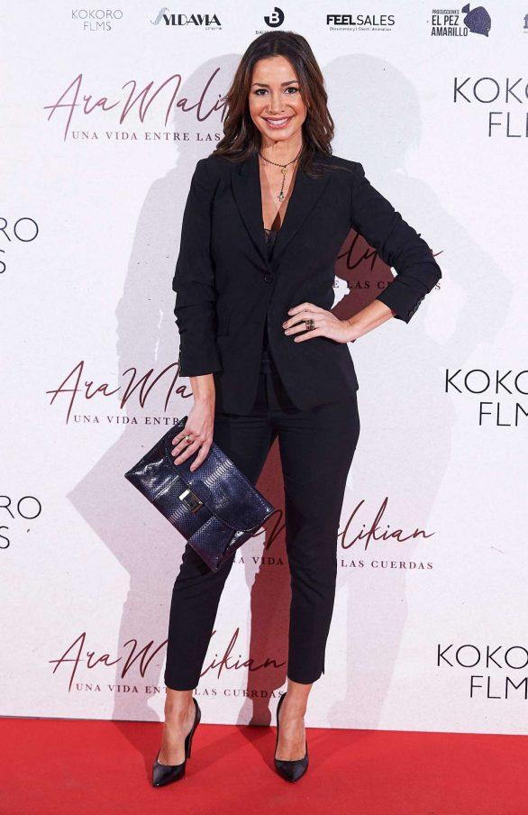 Cecilia Gomez - 'Ara Malikian A Life Among Strings' Premiere in Madrid