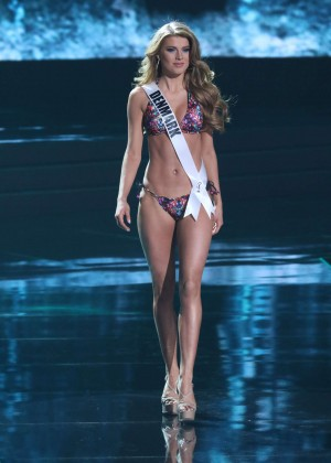 Cecilia Wellemberz - Miss Universe 2015 Preliminary Round in Las Vegas