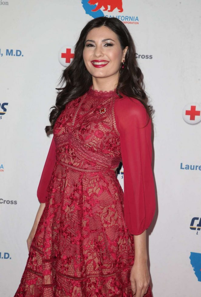 Celeste Thorson – 2018 Red Cross Los Angeles Humanitarian Awards in LA