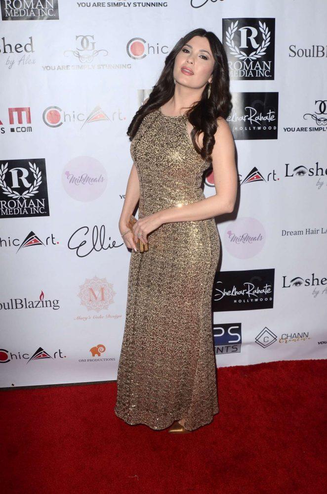 Celeste Thorson - 2018 Roman Media Pre-Oscars Event in Hollywood