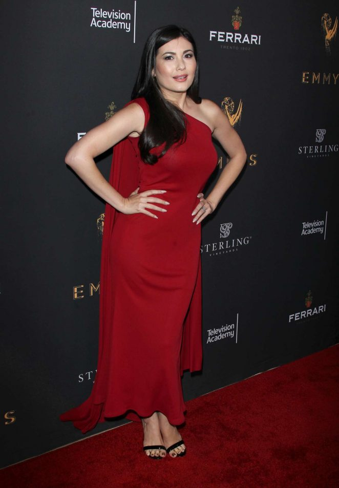 Celeste Thorson: Emmys Cocktail Reception -02
